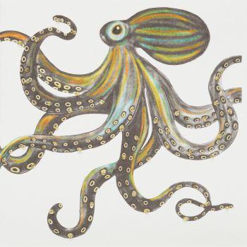 Octopus ( Gold ) - 398AG