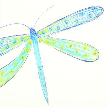 Blue-green Dragonfly