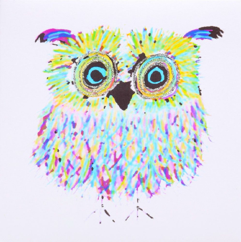 Owl Blue-Green