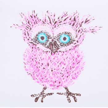 Quirky Owl Pink
