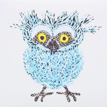 Quirky Owl Teal