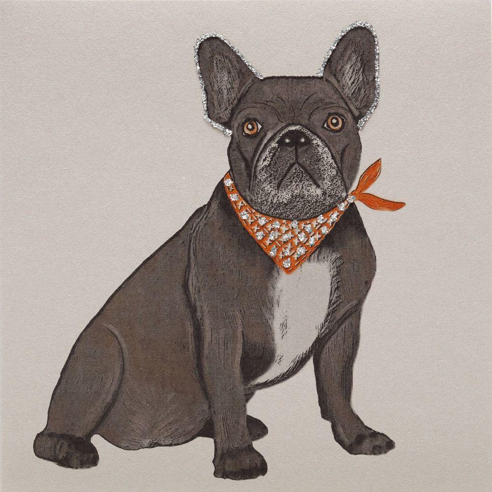 French Bulldog clay