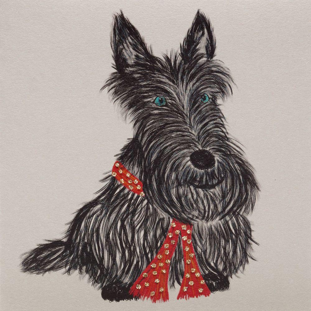 Scottie ( red scarf )