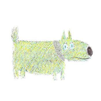 Green Sausage Dog - 342W