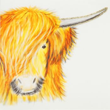 Golden Highland Cow - 389G