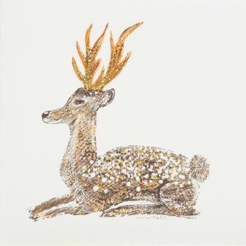 Sitting Stag