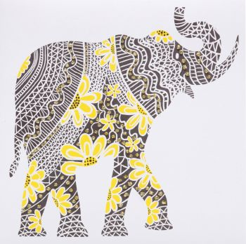 Elephant ( Yellow )