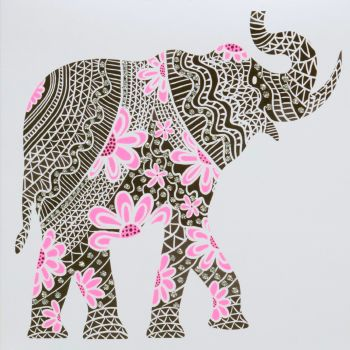 Elephant (Pink) - 7PW