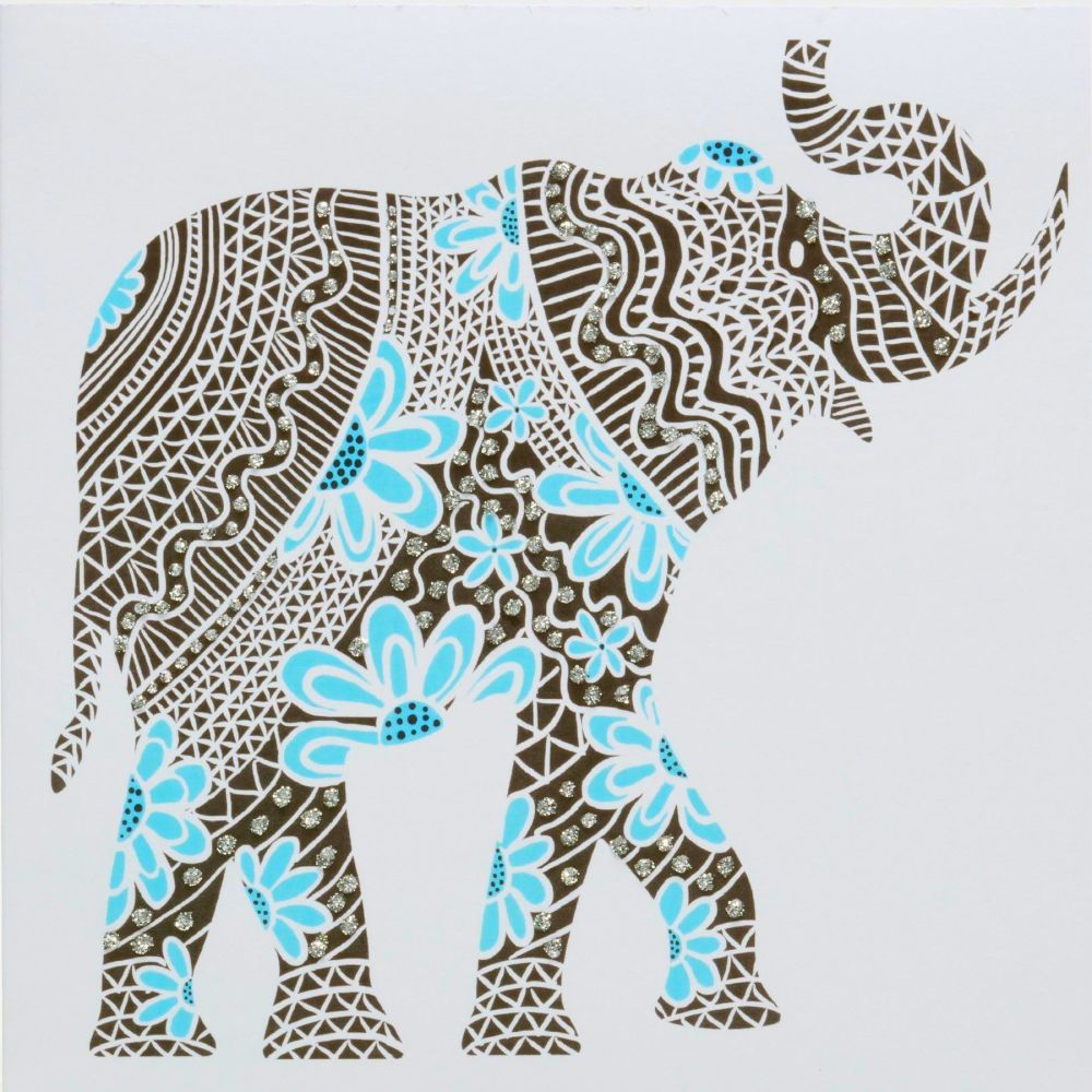 Elephant ( Blue )