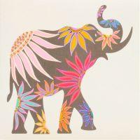 Elephant ( Pink floral)