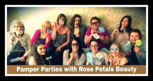 pamper party zoe