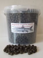 1.500 kg Coppens 8mm Marine Halibut Pre-Drilled Hook Pellets, Carp Barbel, catfish,