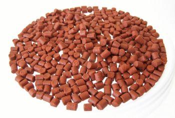 1.500kg 6mm CARRY BUCKET SHRIMP & KRILL SINKING FEEDER PELLETS, CARP , BARBEL