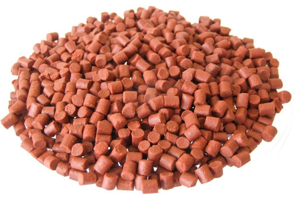 3kg SEALED PACK 6MM SHRIMP & KRILL SINKINF FEEDER PELLETS, CARP,BARBEL