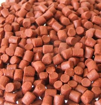 5kg 6mm SEALED PACK SHRIMP & KRILL SINKING FEEDER PELLETS