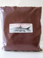 900 gram Sealed pack 2.3mm Shrimp & Krill Sinking Feeder Pellets, Carp fishing, Barbel,