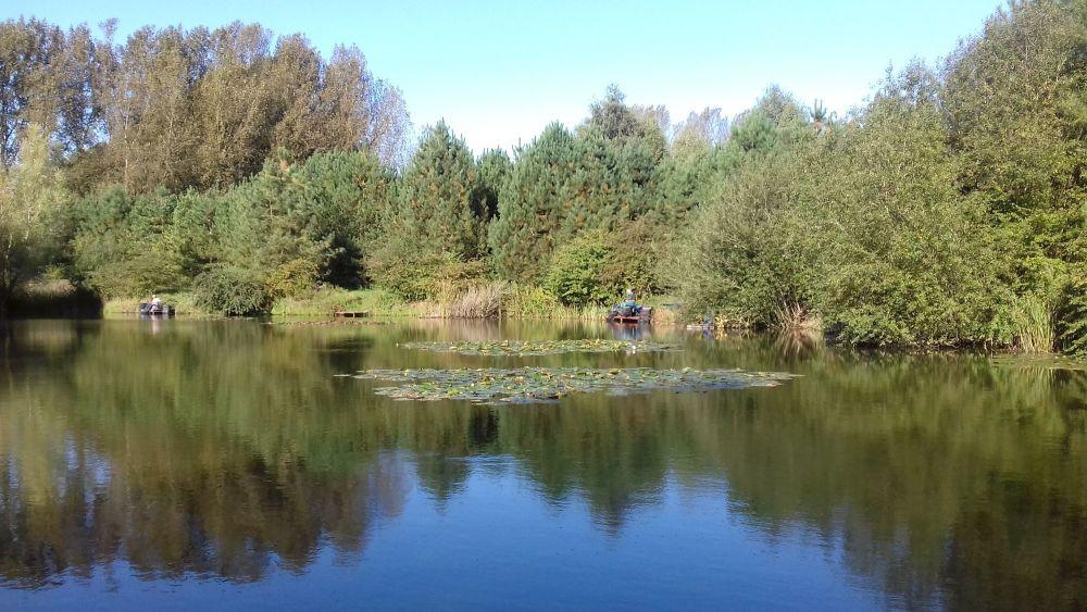 Fishing Venue. Cross Drove Lakes, Feltwell.