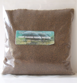 1.500kg 2.3mm Sealed Pack Micro Coarse Sinking Feeder Pellets.