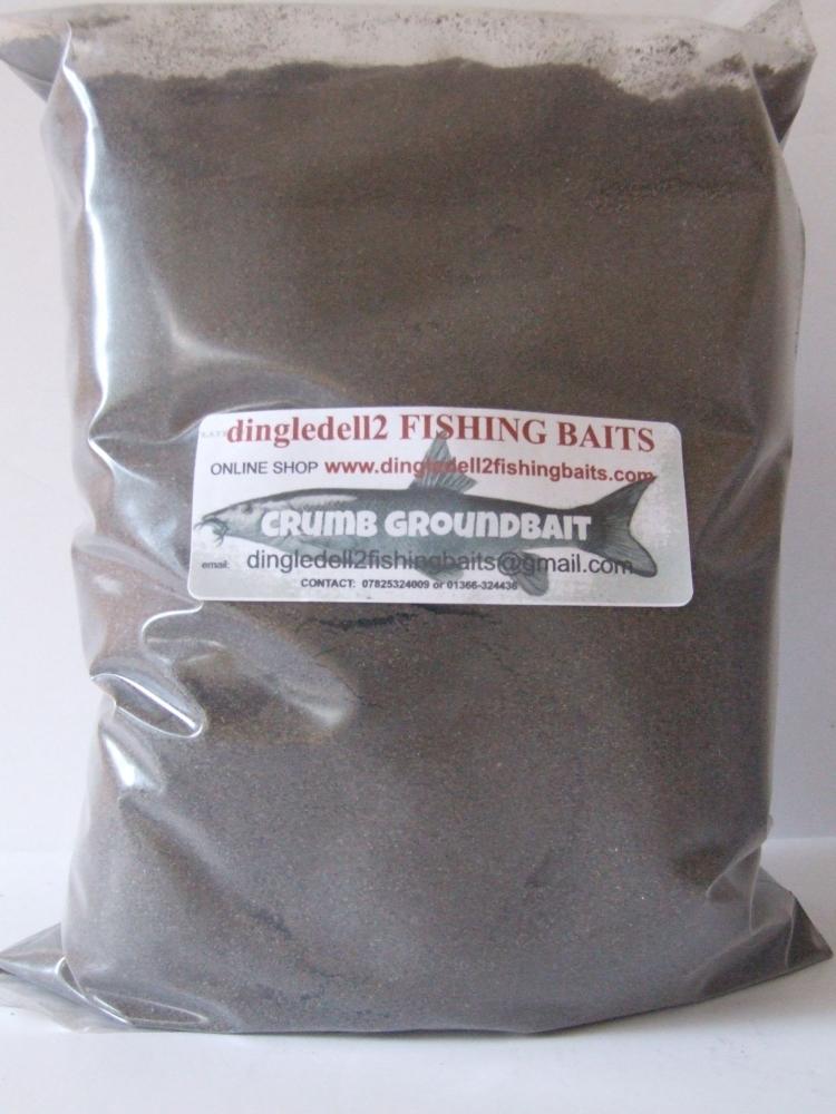 1kg Fine Black Crumb Groundbait