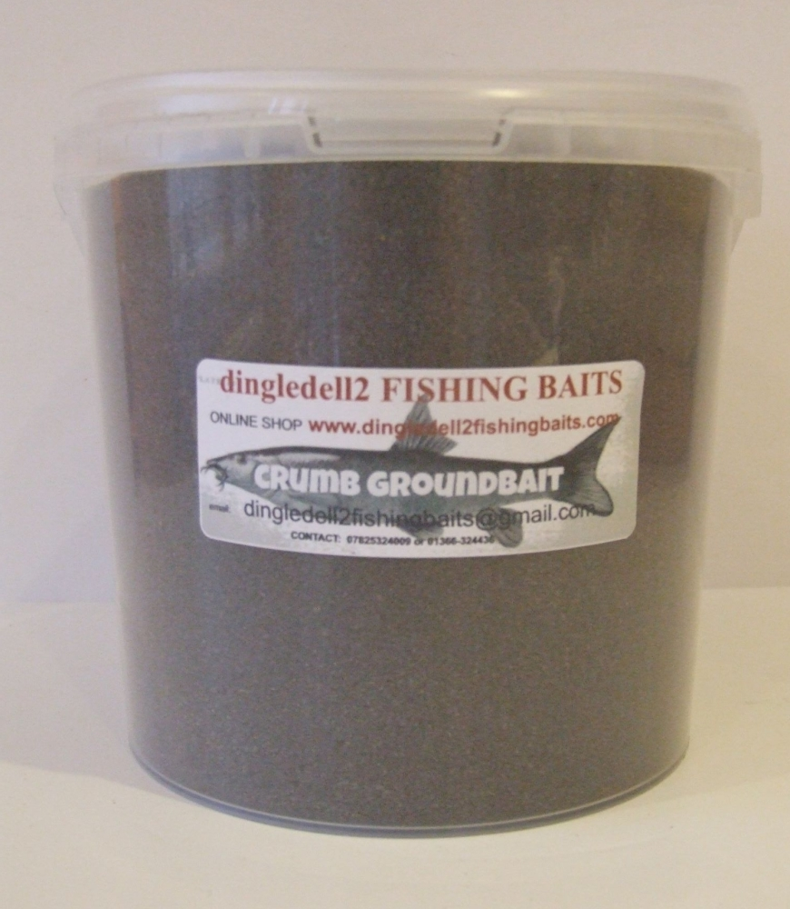 1.500kg Carry Bucket Fine Black Crumb Groundbait