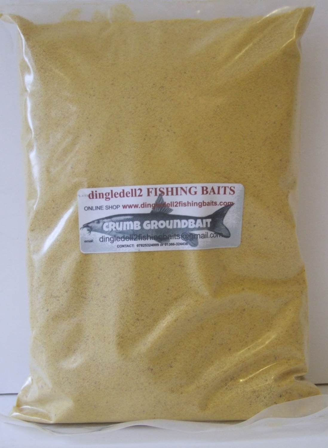 1.500kg Sealed pack Yellow Crumb Ground Bait