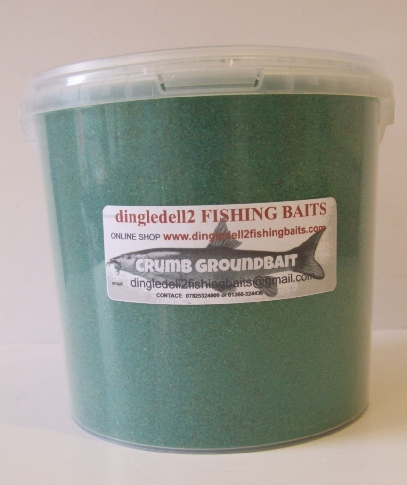 1.500kg Carry Bucket Green Crumb Groundbait