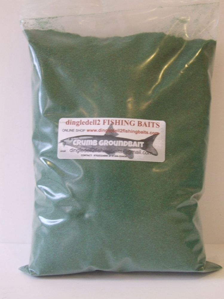 1.500 kg sealed pack Green Crumb Groiund Bait