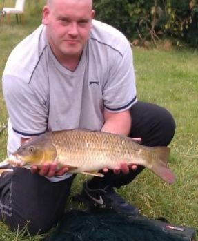 Arron with  Carp