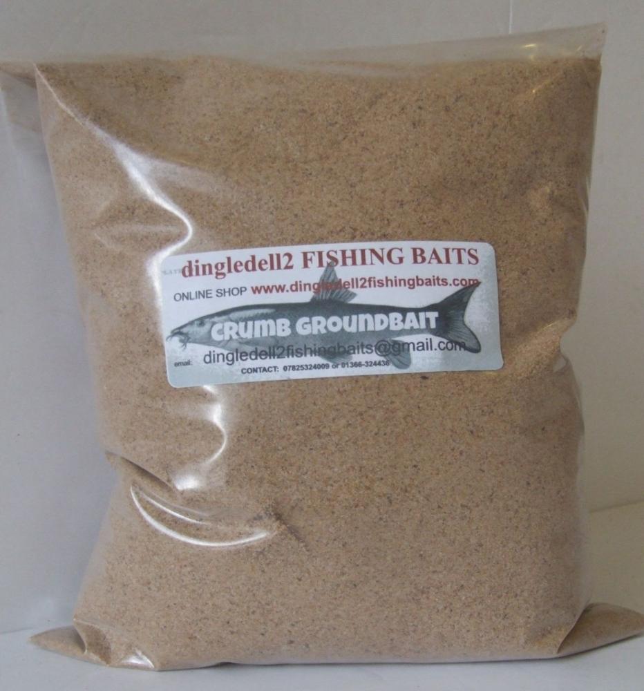 1kg Sealed Pack Brown Crumb Ground Bait