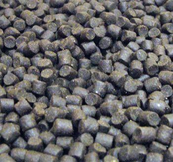 5kg sealed pack 8mm Dark Trout Elite Sinking feeder Pellets