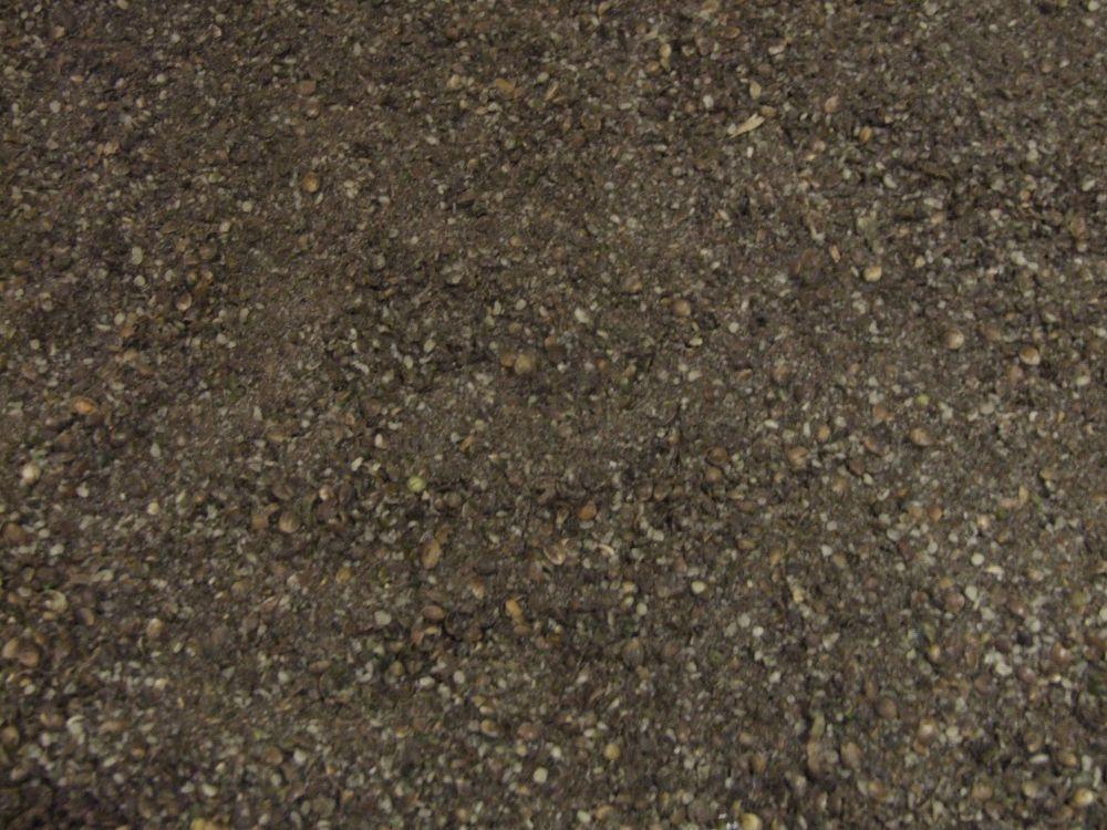 1.500kg Sealed Pack Black Crumb,Crushed Hemp & Micro 2.3 Shrimp & Krill Pel