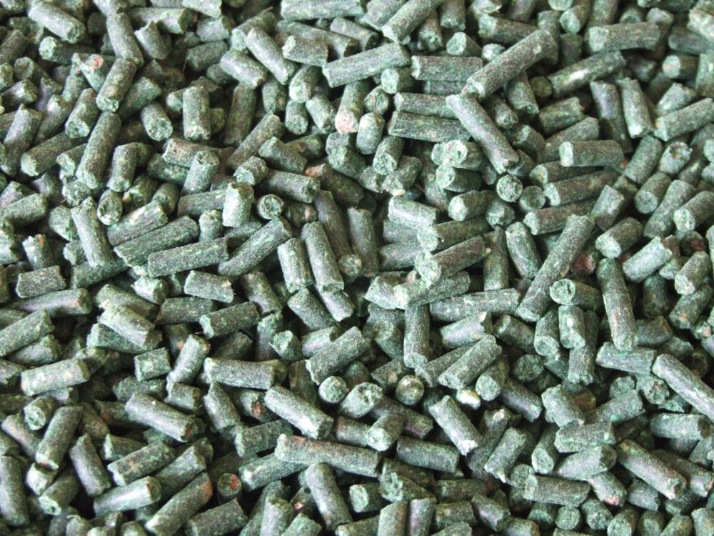 3kg Sealed pack 3mm Green Lipped Mussel Sinking Feeder pellets.