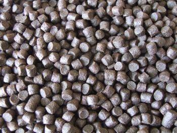 3kg 8mm Dark Trout Elite Sinking feeder pellets, Carp,Catfish,Barbel,Chub fishing,