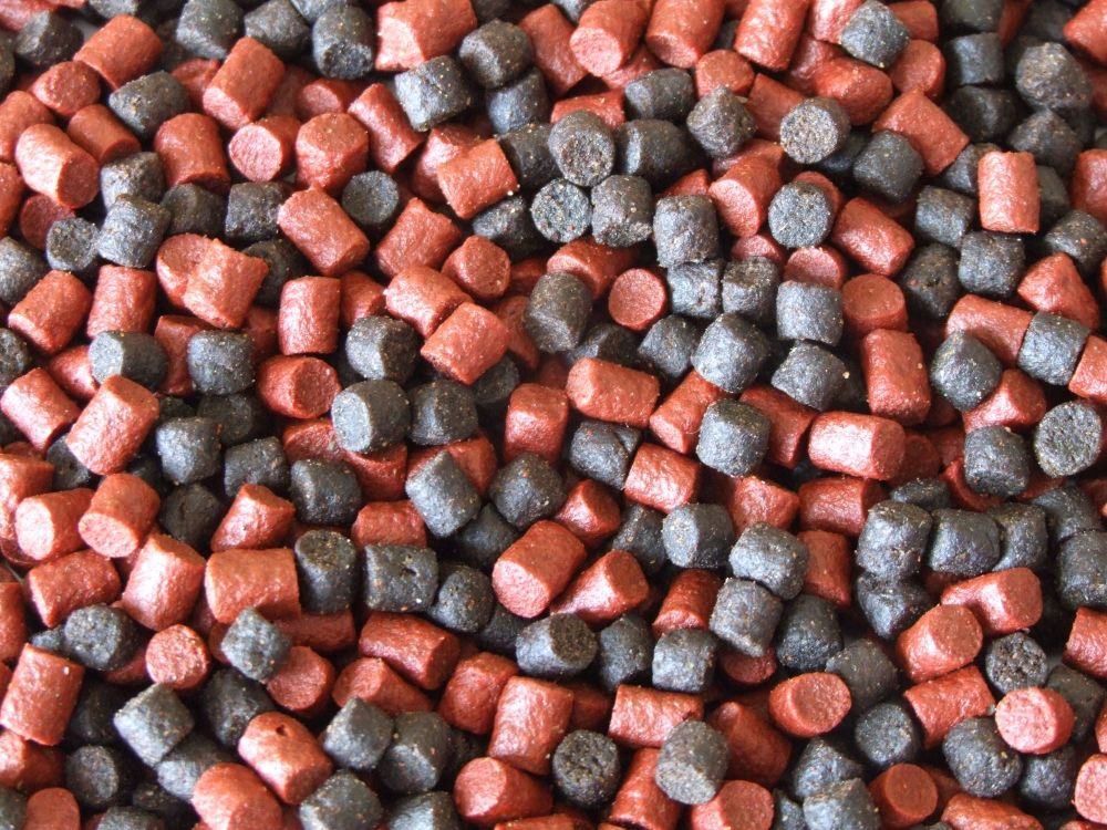 900 gram sealed Pack 6mm Shrimp & Krill Sinking Feeder Pellets.