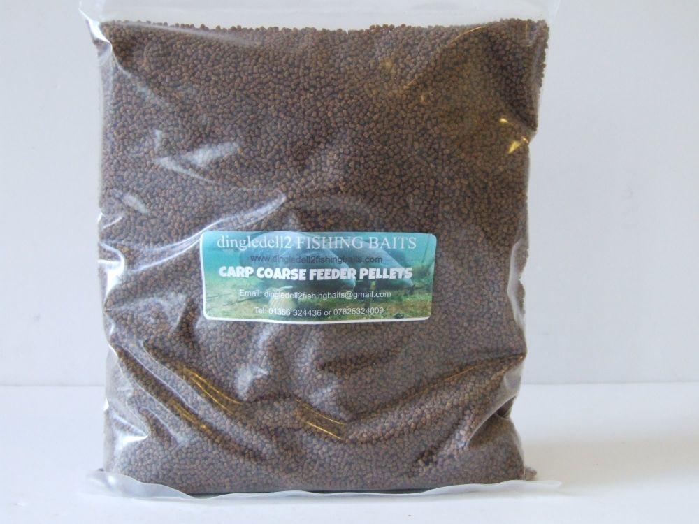 3kg Sealed Pack 2.3mm Micro Carp Coarse Feeder Pellets