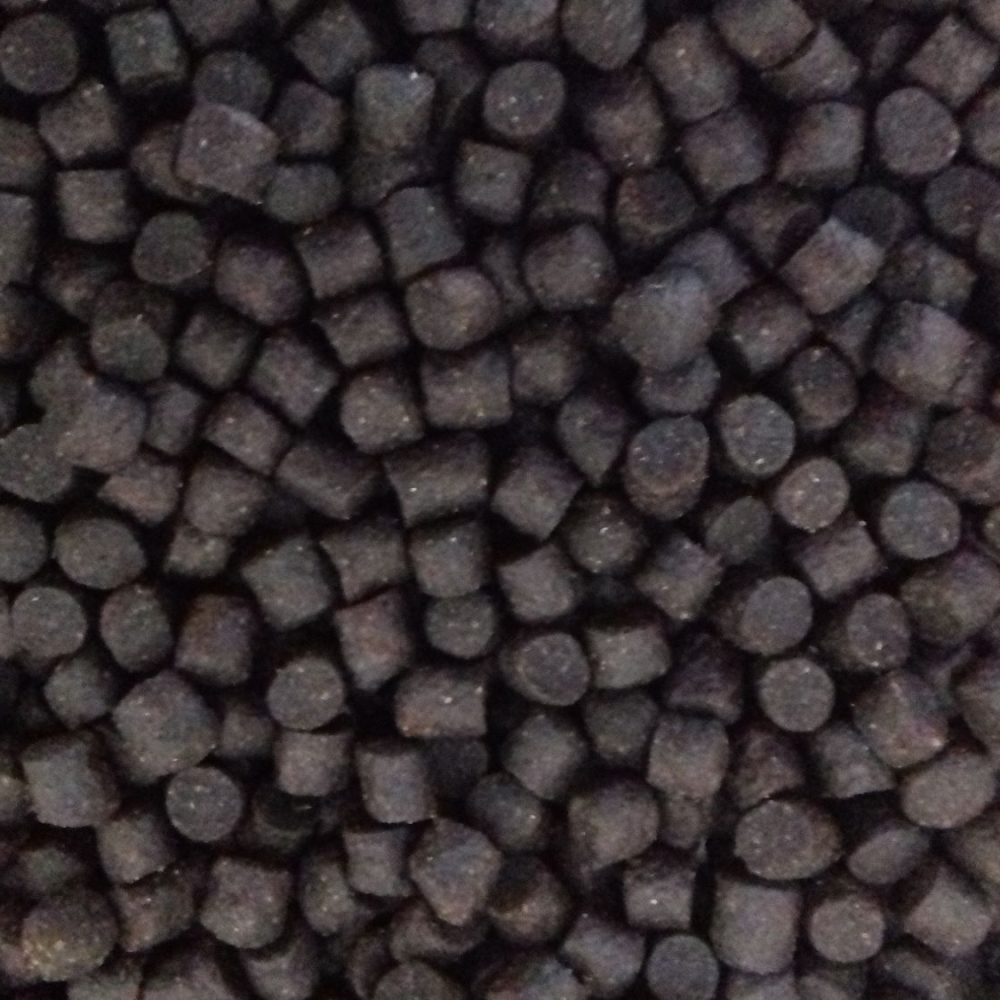 5kg 6mm Dark Trout Elite Sinking Feeder Pellets. Barbel, Carp, Fishing Bait