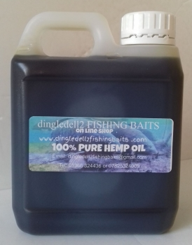 1 Ltr Quality 100% Pure  HEMP OIL, PVA FRIENDLY