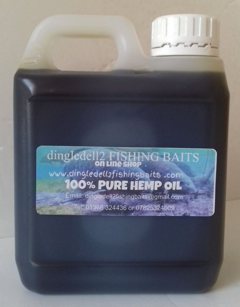 1 Ltr Quality 100% Pure  Hemp Oil