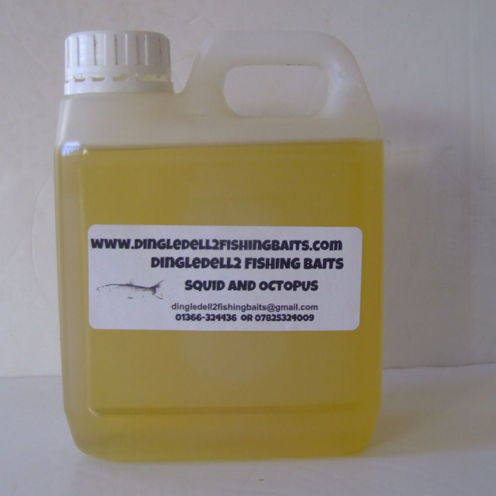 1Ltr Squid & Octopus Flavoured Oil