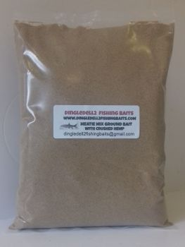 Ground Bait Mix , with Finely Ground Meat and Crushed hemp 1.500kg Packs, Carp,Barbel Baits