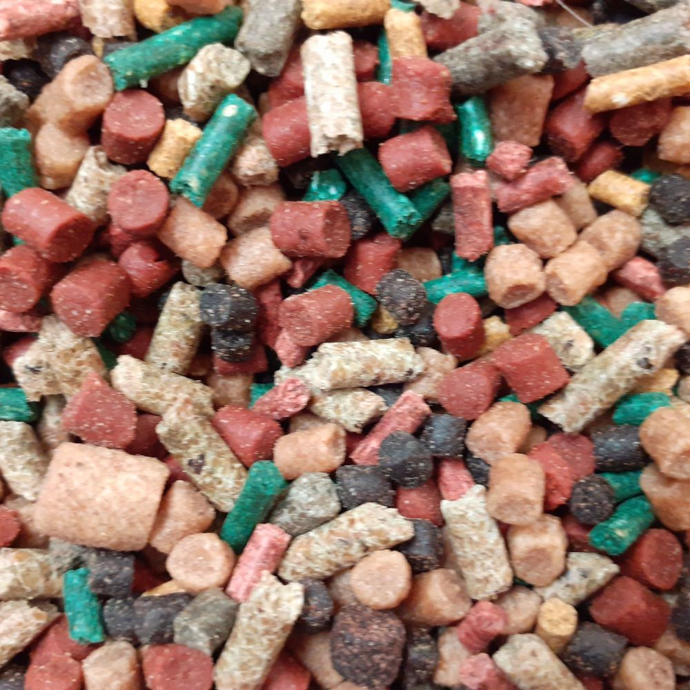 5 kg Favourite Mix Sinking feeder Pellets, Verious sizes and Flavours