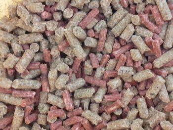 5kg Sealed Pack  4/3mm Liver and Hemp Feeder pellets.