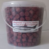 1.500 kg  Carry Bucket 14mm hrimp & Krill Pre-Drilled Hook Pellets.