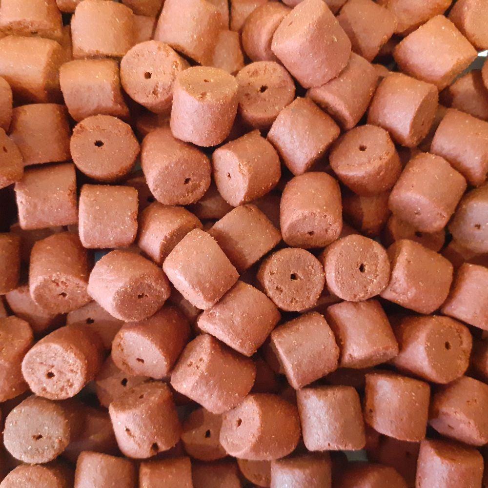 1.500kg Sealed Pack 14mm Shrimp  & krill Pre-Drilled Hook Pellets