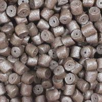 1.500kg Sealed Pack 8mm Pre-Drilled Dark Marine Halibut Hook Pellets