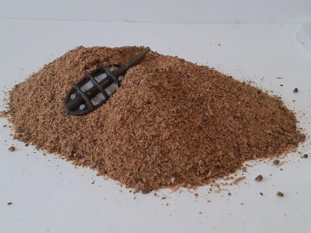 1.500kg Ground Bait Meatie mix & Ground Hemp