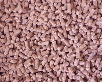 1.500kg Sealed Pack 3mm Sinking Bloodworm Feeder Pellets