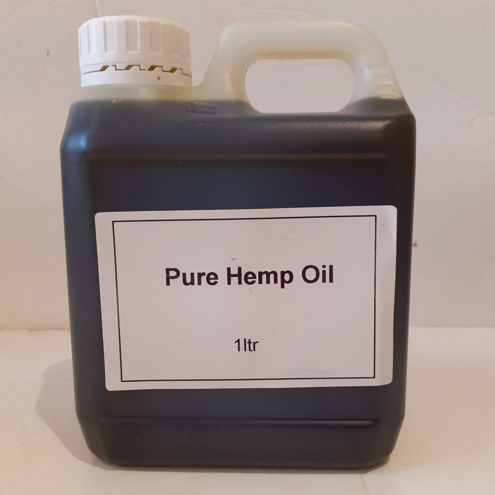 1litre Carry Container Pure Hemp Oil