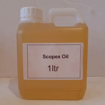 1 Litre Carry Container SCOPEX Flavoured Oil.