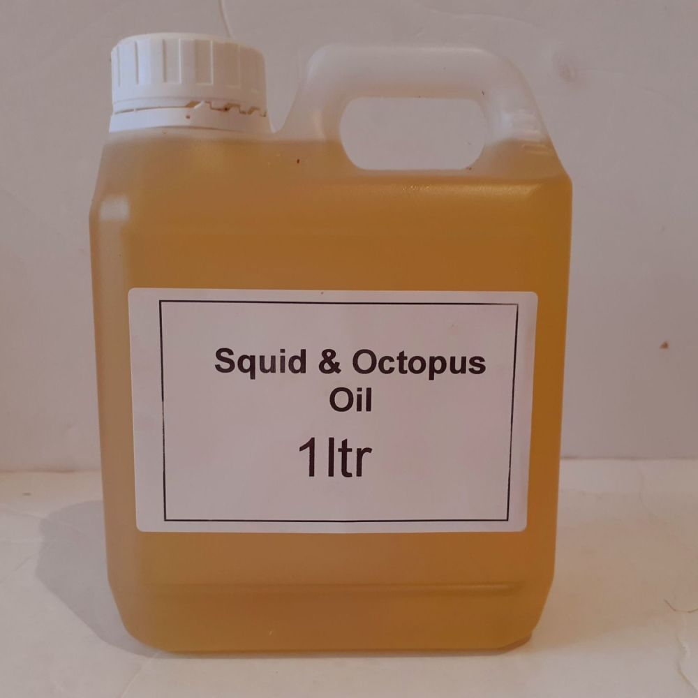 1litre Carry Container SQUID & OCTOPUS Flavoured fish oil